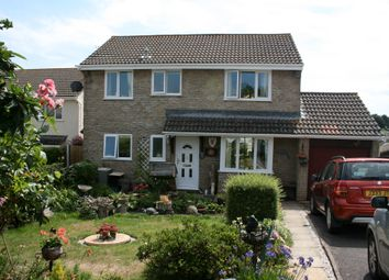 Thumbnail 4 bed detached house for sale in Fulford Close, Tedburn St Mary, Exeter