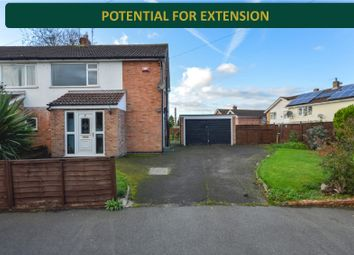 Thumbnail 3 bed semi-detached house for sale in Sibton Lane, Oadby, Leicester