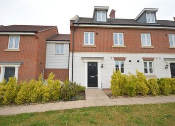 Thumbnail 4 bed end terrace house for sale in Triumph Court, The Hampdens, Norwich