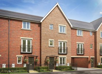 "Thumbnail 4 bedroom town house for sale in ""The Willow"" at Brickburn Close, Hampton Centre, Peterborough"