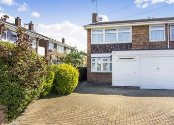 Thumbnail 4 bed semi-detached house for sale in Heron Flight Avenue, Hornchurch