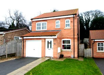Thumbnail 3 bedroom detached house for sale in Woodland Rise, Driffield