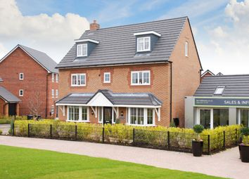 "Thumbnail 5 bedroom detached house for sale in ""Warwick"" at Blackpool Road, Kirkham, Preston"