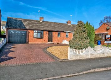 Thumbnail 1 bed semi-detached bungalow for sale in Cobden Close, Hednesford, Cannock