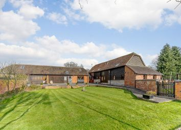 Thumbnail 5 bed barn conversion for sale in Evesham Road, Cookhill, Alcester, Warwickshire