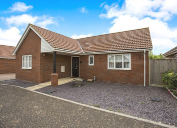 Thumbnail 3 bedroom detached bungalow for sale in Saddler Close, Attleborough
