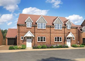 Thumbnail 4 bed semi-detached house for sale in Ballards Row, College Road South, Aston Clinton, Aylesbury