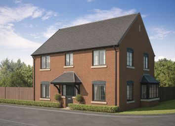 Thumbnail 4 bed detached house for sale in Essendene Rise, Freeman Way, Ashington, Northumberland