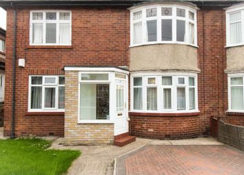 Thumbnail 2 bed flat for sale in Ferndene Grove, High Heaton, Newcastle Upon Tyne