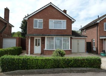 Thumbnail 3 bed detached house for sale in Oxstalls Way, Gloucester