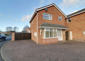 Thumbnail 3 bedroom detached house for sale in Fullmoor Close, Penkridge, Staffordshire