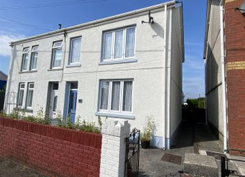 Thumbnail 3 bed semi-detached house for sale in Heol Aman, Glanamman, Ammanford