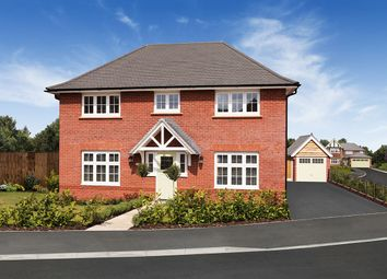 "Thumbnail 4 bed detached house for sale in ""Harrogate"" at Orwell Drive, Arborfield, Reading"