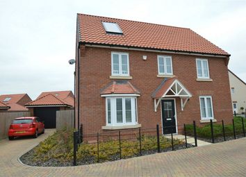 Thumbnail 4 bedroom detached house for sale in Blythe Way, Horsford, Norwich