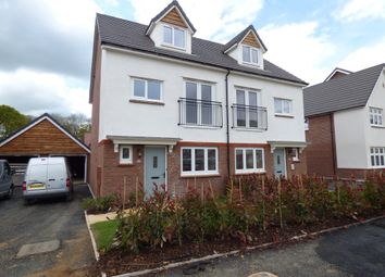 Thumbnail 4 bed semi-detached house to rent in Homington Avenue, Coate, Swindon