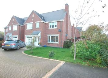 Thumbnail 4 bed detached house to rent in Oakley Grange, Burton Upon Trent, Staffordshire