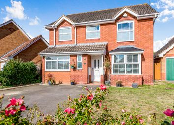 Thumbnail 4 bed detached house for sale in The Choakles, Wootton, Northampton