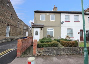 Thumbnail 2 bedroom end terrace house for sale in Stanhope Road, Swanscombe