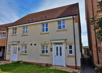 Thumbnail 3 bed semi-detached house for sale in Deansleigh, Lincoln