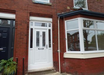 Thumbnail 3 bed terraced house to rent in Cleveleys Avenue, Chorlton, Manchester