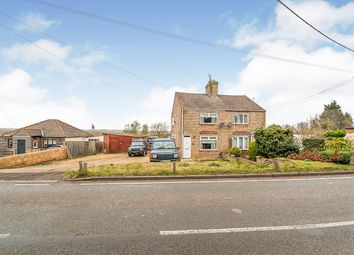 Thumbnail 2 bed semi-detached house for sale in South Eau Bank, Throckenholt, Spalding