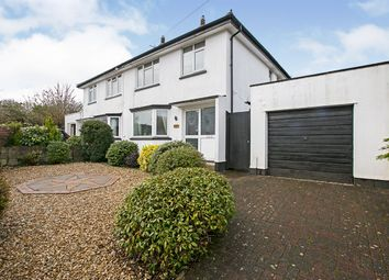 Thumbnail 3 bed semi-detached house for sale in Church View Road, Camborne, Cornwall