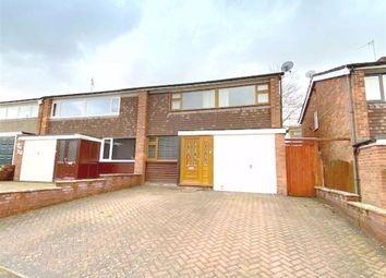 3 bed semi-detached house for sale in Wallbridge Drive, Leek, Staffordshire ST13