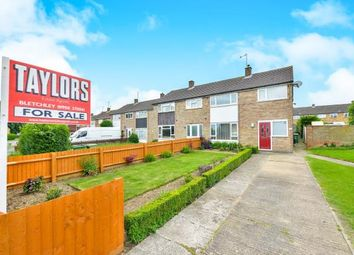 Thumbnail 3 bed semi-detached house for sale in Middlesex Drive, Bletchley, Milton Keynes, Bucks