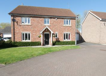 Thumbnail 4 bed detached house for sale in Hopyard Court, Howden, Goole