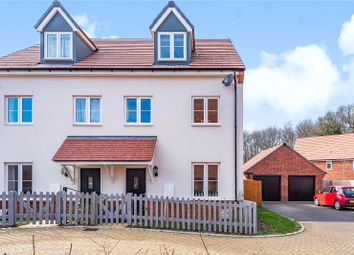Thumbnail 3 bed semi-detached house for sale in Chiltern Crescent, Fair Oak, Eastleigh
