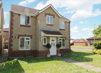 Thumbnail 3 bed detached house for sale in Russell Crescent, Sleaford
