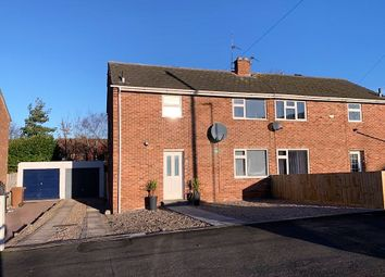 Thumbnail 3 bed semi-detached house for sale in Brownlow Crescent, Melton Mowbray
