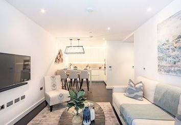 Thumbnail 2 bed flat to rent in Thornes House, London