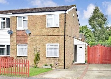 Thumbnail 3 bed end terrace house for sale in Harvesters Close, Rainham, Gillingham, Kent
