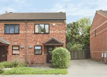 Thumbnail 2 bed semi-detached house for sale in Newcastle Farm Drive, Whitemoor, Nottingham