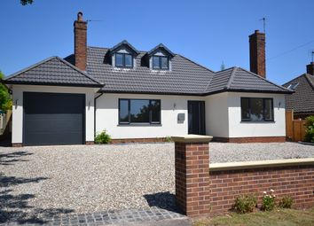 Thumbnail 4 bed detached bungalow for sale in Abbots Way, Newcastle-Under-Lyme