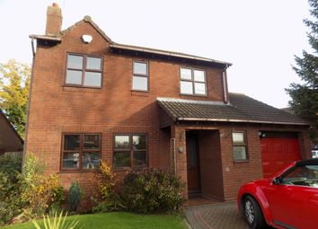 Thumbnail 4 bed detached house to rent in Home Farm Close, Witherley