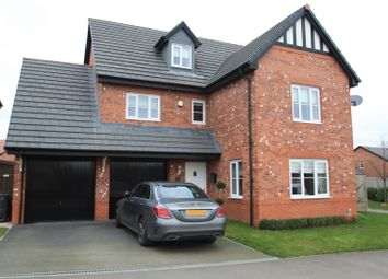 Thumbnail 5 bed detached house to rent in Britannia Road, Cuddington, Northwich