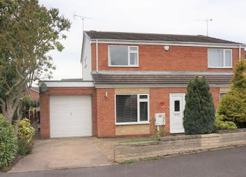 Thumbnail 2 bed semi-detached house for sale in Scholey Avenue, Worksop