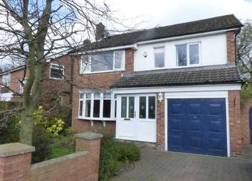 Thumbnail 4 bed detached house for sale in East Lane, Cuddington, Northwich, Cheshire