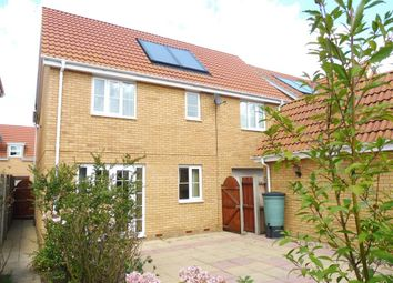 Thumbnail 4 bed detached house to rent in Bullfinch Drive, Harleston