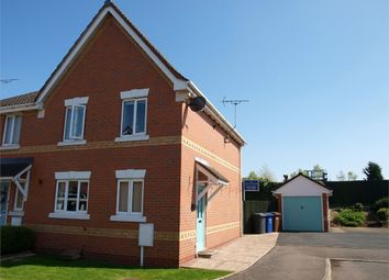 Thumbnail 3 bed semi-detached house for sale in Pine Close, Branston, Burton-On-Trent, Staffordshire