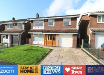 Thumbnail 4 bed detached house to rent in Roxby Close, Walkden, Manchester