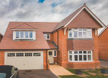 Thumbnail 5 bed detached house for sale in Biddestone Avenue, Coate, Swindon
