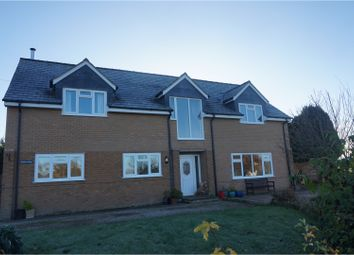 Thumbnail 4 bed detached house for sale in Kingswood, Welshpool