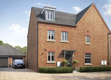 "Thumbnail 3 bed end terrace house for sale in ""Kirkwood"" at Hutton Close, Newbury"