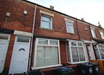 2 bed terraced house for sale in Preston Road, Hockley, Birmingham, West Midlands B18