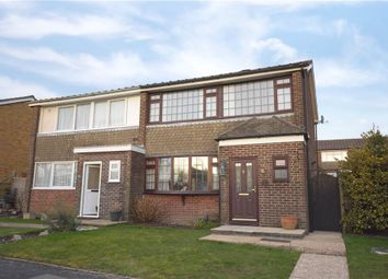 Thumbnail 3 bedroom semi-detached house for sale in Fraser Road, Kings Worthy, Winchester