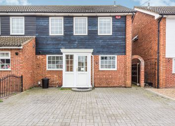 Thumbnail 4 bed semi-detached house for sale in Maytree Close, Rainham
