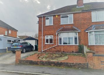 Thumbnail 3 bed semi-detached house for sale in Catherine Avenue, Mansfield Woodhouse